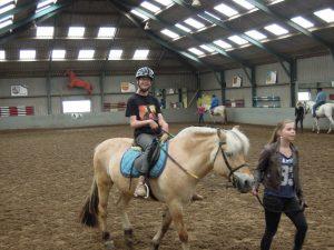 Paardrijden met een beperking